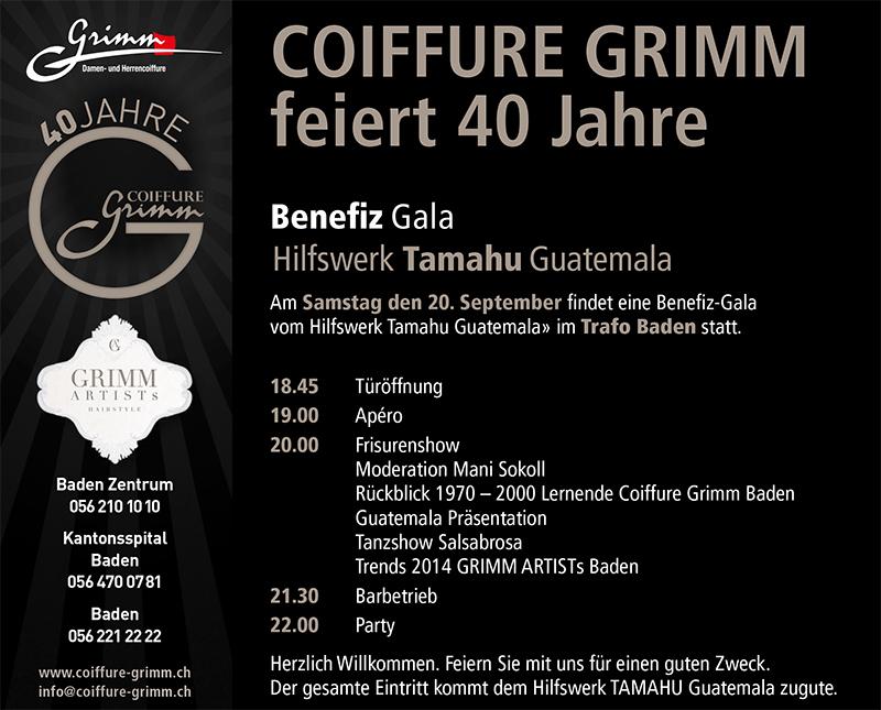 40 Jahre Coiffure Grimm - Benefizgala
